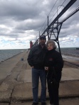 Mom and me on the South Haven pier
