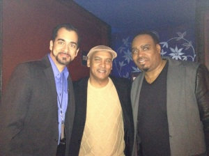 My brush with greatness: me, hit-maker Preston Glass, and Khari Parker (drums)