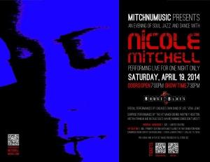 Nicole's concert ad