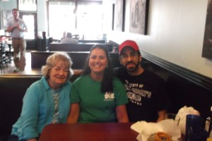 Mom, Dee, and me at Galvin's in Georgetown, KY.  Great place, and Dee is fabulous!